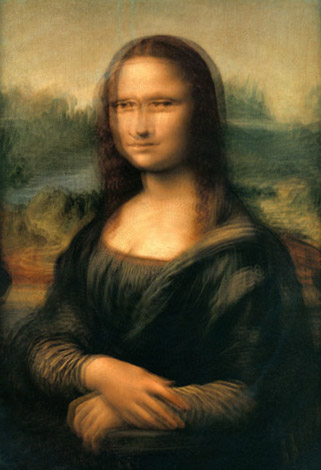 Mona Lisa betrunken