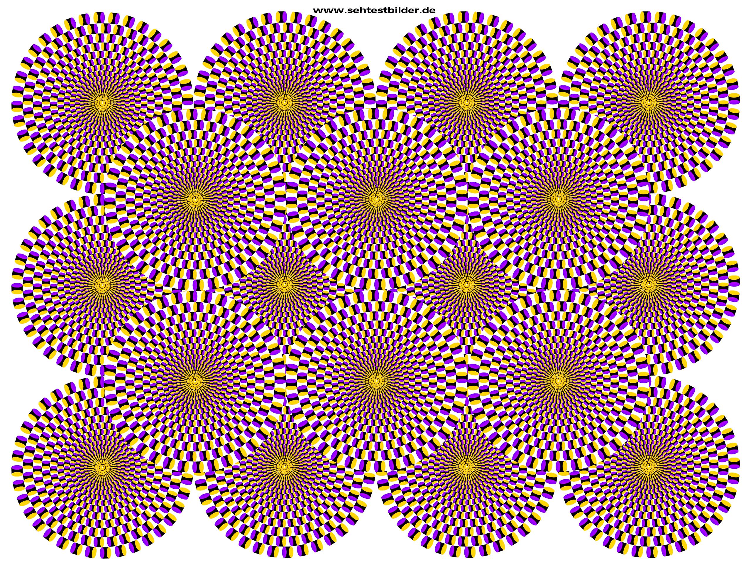 Optische Täuschung Farben