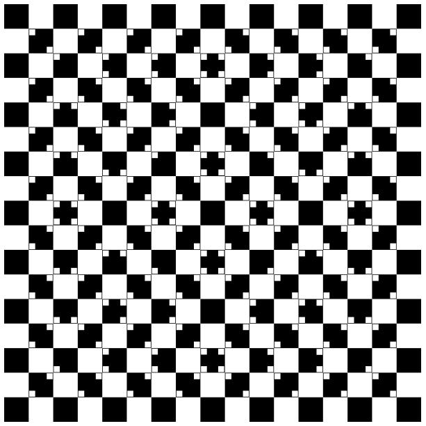 Optische Täuschungen und Illusionen  Sehtestbilder