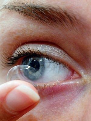 Dailies kontaktlinsen für einen tag