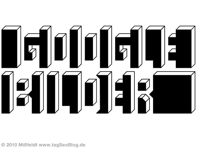 Optische Täuschung: Google Bilder
