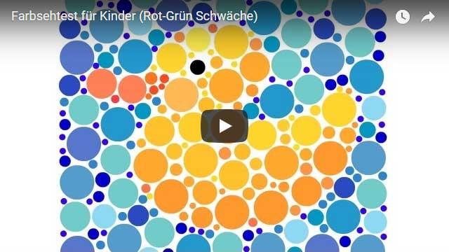 Farbsehtest für Kinder (Video)
