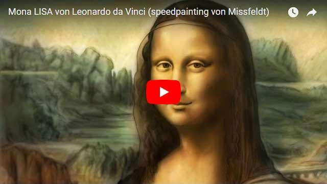 Mona Lisa & Leonardo da Vinci Montage