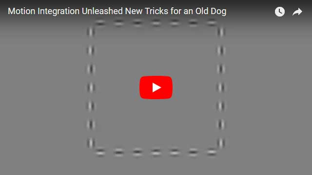 Motion Integration Unleashed New Tricks for an Old Dog